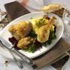 Rezepte: Geschmorte Hähnchenschenkel mit Madeira-Schalotten