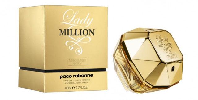 Bild: Paco Rabanne 1 MILLION ABSOLUTELY GOLD