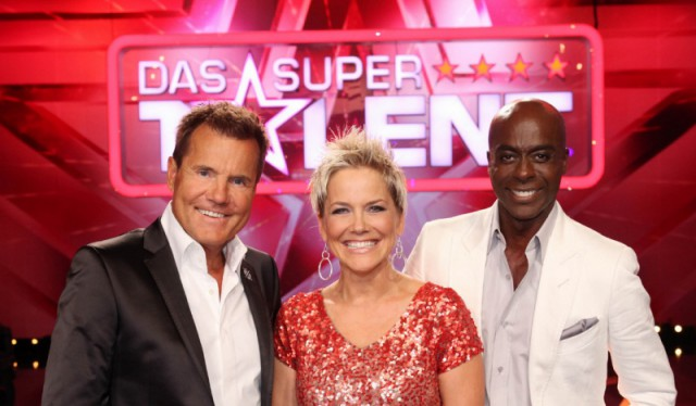 Die Supertalent-Jury: Dieter Bohlen, Inka Bause und Bruce Darnell (v.l.) © RTL/Hempel