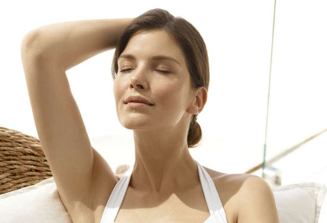 Sonnenschutzpflege